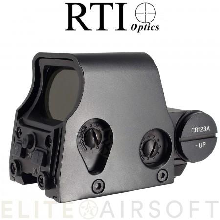 RTI - Viseur point rouge/vert Advanced 553 - Noir